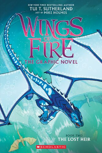 The Lost Heir (Graphic Novel) | Wings of Fire Wiki | FANDOM