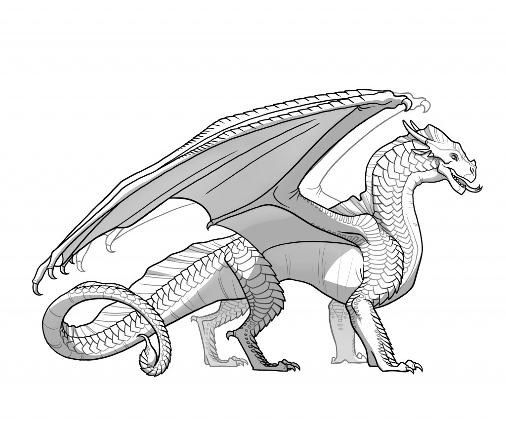 Wings Of Fire Coloring Pages Image  Sandwing 001  Wings Of Fire Wiki  Fandom Powered.