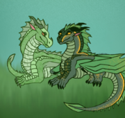 Sundew and Willow by StarryServal