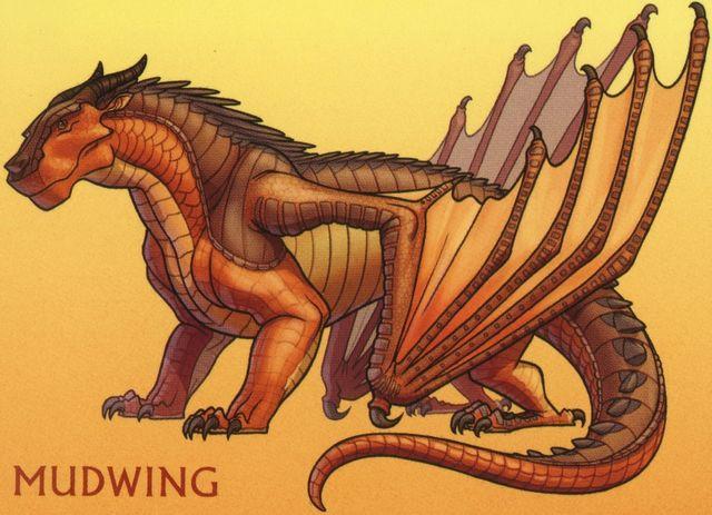 Mudwing Coloring Page