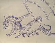 Wings of fire fierceteeth x strongwings by iron zing-db9nr0z