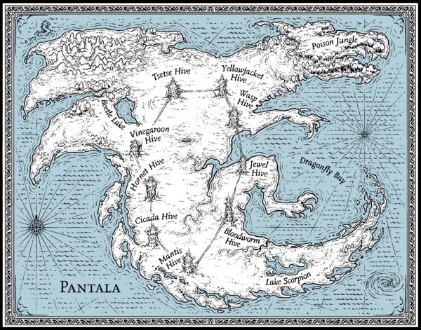 Pantala - Colored Water