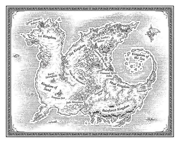 Pyrrhia Map