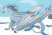 IceWing with background