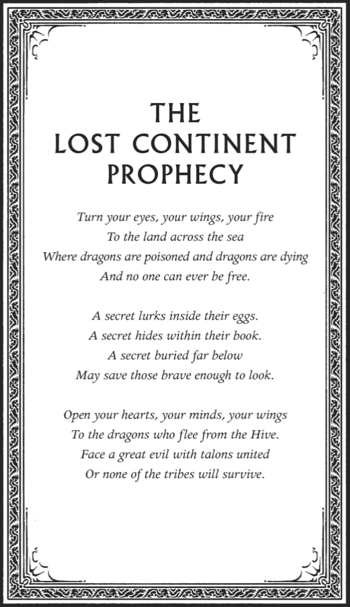 The Lost Continent Prophecy
