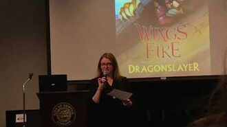 Tui T Sutherland reads from Dragonslayer-0