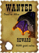 Morrowseer~ Wanted Dead or Alive Poster