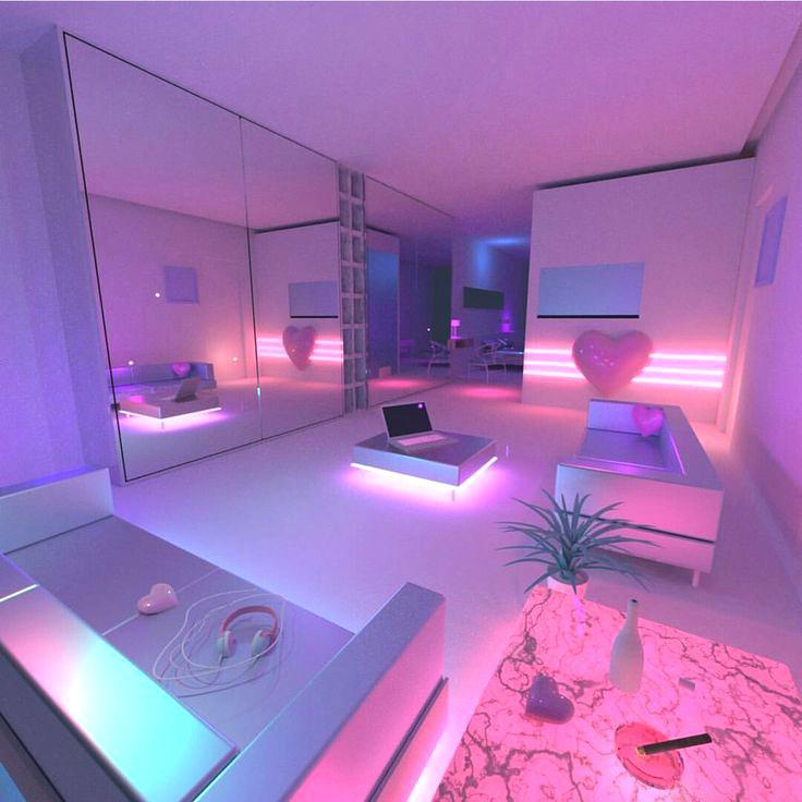 17 Best Ideas About Neon Bedroom On Pinterest: Aesthetic-room-decor-classy-design-neon-room-decor