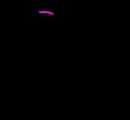 Sandwing base tail curled up marx