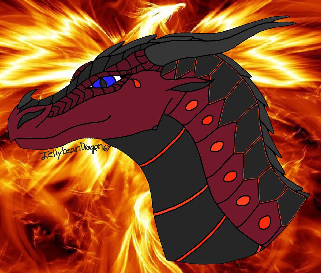 Cinder   Wings of Fire Fanon Wiki   FANDOM powered by Wikia