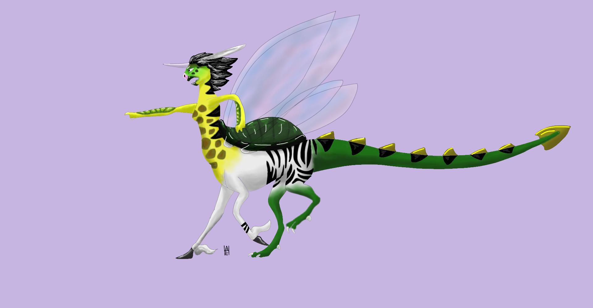 Image - Unicorn.turtle.dragon.fairy.centaur.body1.png | Wings of ...