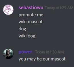 Wiki mascot