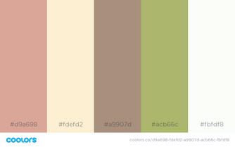 Screen color scheme