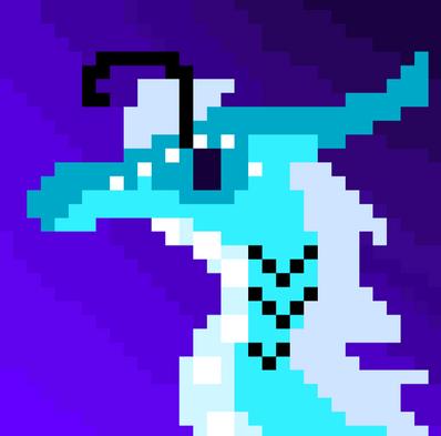Damselfly. pixel (improved)