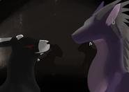 ConstellationAndMonokumaSilhouette - ReverbtheDragon