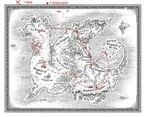 Deathwing Map