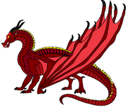 Aera's SkyWing form (Flare)