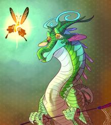 Butterfly gazer