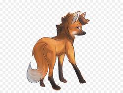 Maned wolfy