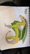 Seashell by Canarytherainwing