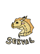 Serval gift