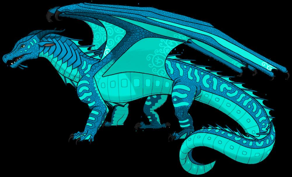 Oceanic the Seawing | Wings of Fire Fanon Wiki | Fandom
