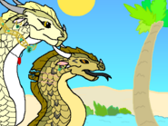 Hydro and his adoptive mother