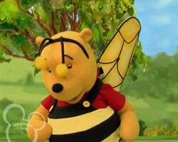 The Book of Pooh - Pooh Dressed as Bee