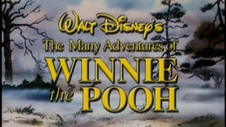 The Many Adventures of Winnie the Pooh 25th Anniversary DVD Trailer