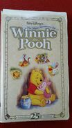 The Many Adventures of Winnie the Pooh Twenty fivth Anniversary Edition VHS