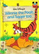 Walt Disney's Winnie the Pooh and Tigger too Classic Book Cover