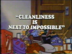 Cleanliness Is Next to Impossible
