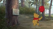 Winnie the Pooh Oh Hello Red Balloon