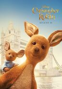 Christopher Robin Kanga and Roo Character Poster