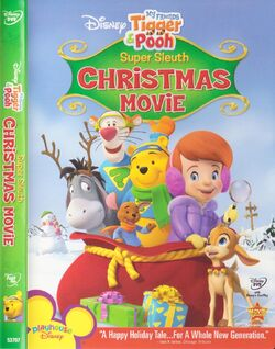 Pooh's Super Sleuth Christmas Movie DVD Case