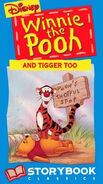 Winnie the Pooh and Tigger Too 1994 VHS