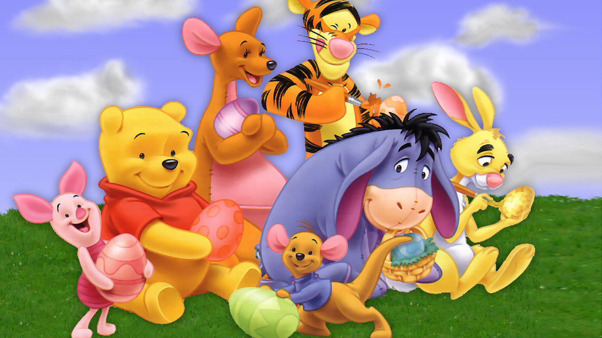 Image pooh wallpaper cast hdg winniepedia fandom pooh wallpaper cast hdg voltagebd Gallery