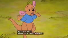 Pooh's Heffalump Movie - Roo Asks What's a Heffalump