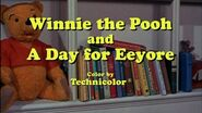 Winnie the Pooh and a Day for Eeyore title card