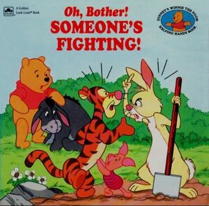 Oh, Bother! Someone's Fighting Cover (Older)