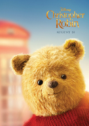 Christopher Robin Pooh Bear Character Poster