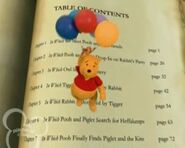 Book of Pooh Table of Contents