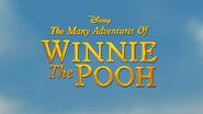 Disney The Many Adventures of Winnie the Pooh tc