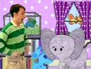 ELEPHANT - ELEPHANT TRUMPETING, THREE TIMES, ANIMAL, Blue's Clues 6