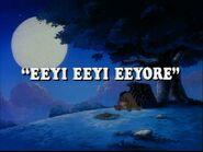 Eeyi Eeyi Eeyore