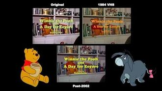 Winnie the Pooh and a Day for Eeyore (1983) - Opening Titles Comparison