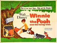 Winnie the Pooh and the Honey Tree Quad Poster