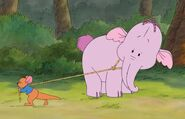 Roo trying to save Heffalump