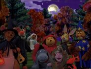 The Book of Pooh - Cast in Costumes