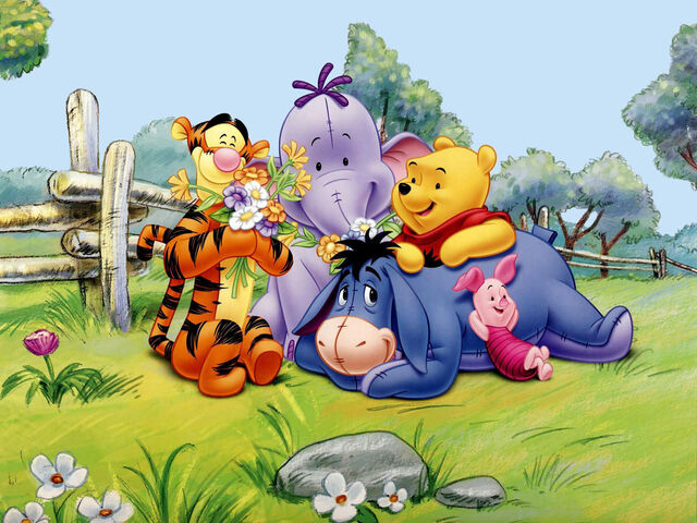 File:Pooh, Lumpy and Friends.jpg